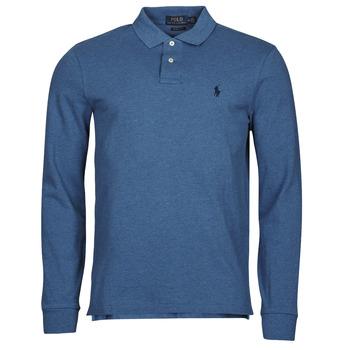 衣服 男士 长袖保罗衫 Polo Ralph Lauren KETINA 蓝色 / Royal