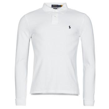 衣服 男士 长袖保罗衫 Polo Ralph Lauren TREKINA 白色