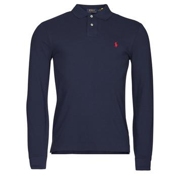衣服 男士 长袖保罗衫 Polo Ralph Lauren TREKINA 蓝色