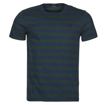 衣服 男士 短袖体恤 Polo Ralph Lauren POLINE 海蓝色 / 绿色