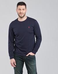 衣服 男士 长袖T恤 Polo Ralph Lauren DRENNI 海蓝色