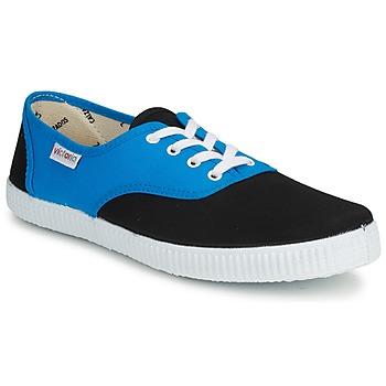 鞋子 球鞋基本款 Victoria 维多利亚 INGLESA BICOLOR 蓝色 / 黑色