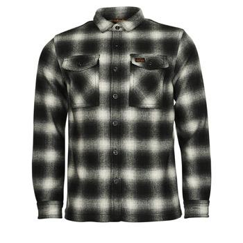 衣服 男士 夹克 Superdry 极度干燥 Wool Miller Overshirt 黑色