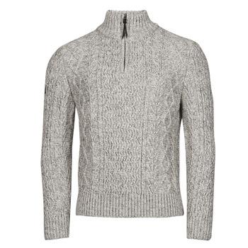 衣服 男士 羊毛衫 Superdry 极度干燥 JACOB HENLEY 灰色
