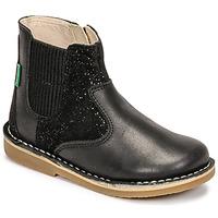 鞋子 女孩 短筒靴 Kickers MAELIO 黑色