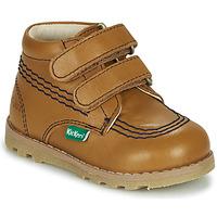 鞋子 儿童 短筒靴 Kickers NONOMATIC 驼色