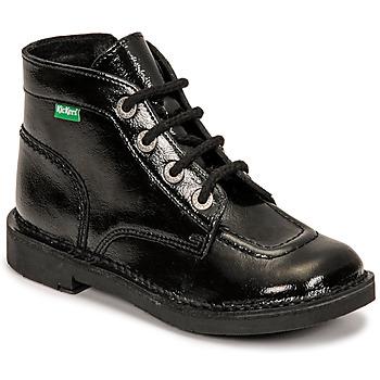 鞋子 女孩 短筒靴 Kickers KICK COLZ 黑色