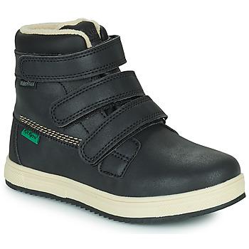 鞋子 儿童 短筒靴 Kickers YEPOKRO WPF 黑色
