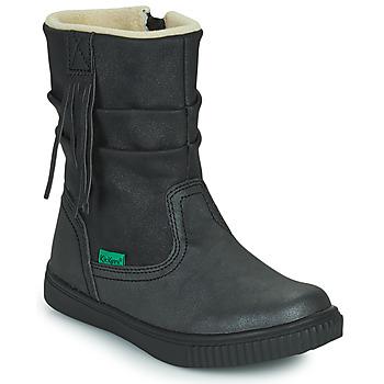 鞋子 女孩 短筒靴 Kickers RUMBY 黑色