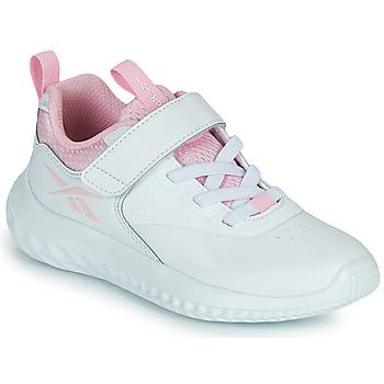 鞋子 女孩 球鞋基本款 Reebok 锐步 RUSH RUNNER 白色 / 玫瑰色