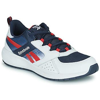 鞋子 男孩 球鞋基本款 Reebok 锐步 ROAD SUPREME 白色 / 海蓝色 / 红色