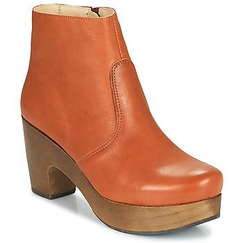鞋子 女士 短靴 Neosens ST LAURENT 棕色