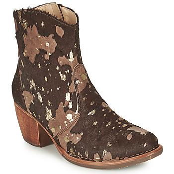 鞋子 女士 短靴 Neosens MUNSON 棕色 / 金色