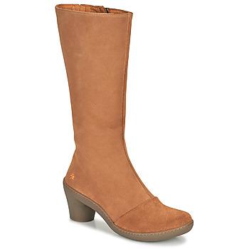 鞋子 女士 都市靴 Art ALFAMA 棕色