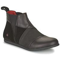 鞋子 女士 短筒靴 Art LARISSA 黑色