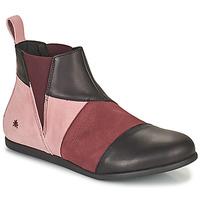 鞋子 女士 短筒靴 Art LARISSA 紫罗兰 / 黑色
