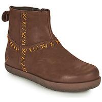 鞋子 女士 短筒靴 Art RHODES 棕色