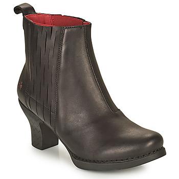 鞋子 女士 短靴 Art HARLEM 黑色
