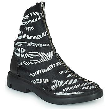 鞋子 女士 短筒靴 Papucei KAEL 黑色 / 白色