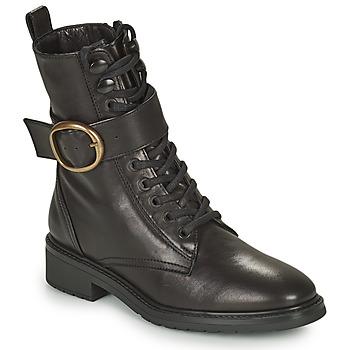 鞋子 女士 短筒靴 Unisa EDECAN 黑色