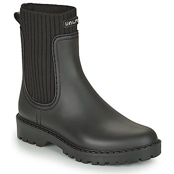 鞋子 女士 雨靴 Unisa AYNAR 黑色