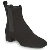 鞋子 女士 短靴 Unisa GUSO 黑色