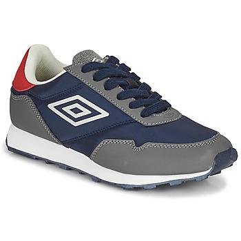 鞋子 儿童 球鞋基本款 Umbro 茵宝 KARTS LACE 灰色 / 蓝色