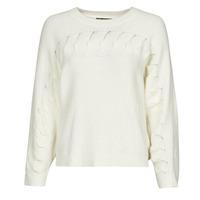 衣服 女士 羊毛衫 Chattawak SWEETY 白色