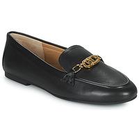 鞋子 女士 皮便鞋 Lauren Ralph Lauren AVERI 黑色