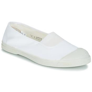 鞋子 女士 平底鞋 Bensimon TENNIS ELASTIQUE 白色
