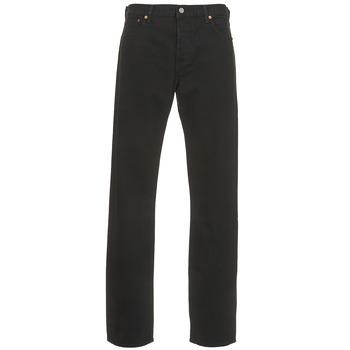 衣服 男士 直筒牛仔裤 Levi's 李维斯 501? Levi's?ORIGINAL FIT 黑色 / 80701