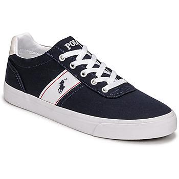 鞋子 男士 球鞋基本款 Polo Ralph Lauren HANFORD RECYCLED CANVAS 海蓝色