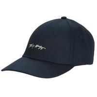 纺织配件 女士 鸭舌帽 Tommy Hilfiger SIGNATURE CAP 海蓝色