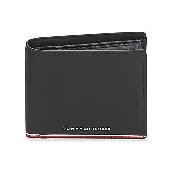 包 男士 钱包 Tommy Hilfiger TH COMMUTER EXTRA CC AND COIN 黑色