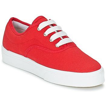 鞋子 女士 球鞋基本款 Yurban PLUO 红色
