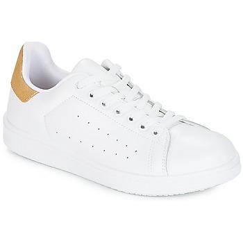 鞋子 女士 球鞋基本款 Yurban SATURNA 白色 / 金色