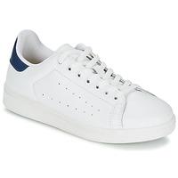 鞋子 男士 球鞋基本款 Yurban SATURNA 白色 / 海蓝色