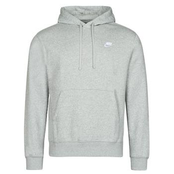 衣服 男士 卫衣 Nike 耐克 NIKE SPORTSWEAR CLUB FLEECE 灰色 / 白色