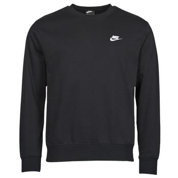 衣服 男士 卫衣 Nike 耐克 NIKE SPORTSWEAR CLUB FLEECE 黑色 / 白色