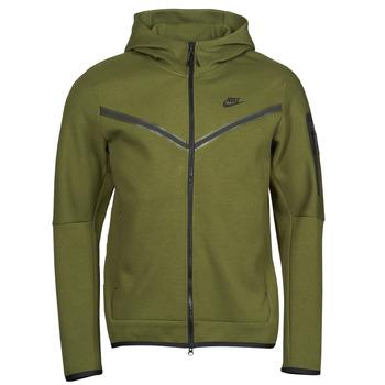 衣服 男士 运动款外套 Nike 耐克 NIKE SPORTSWEAR TECH FLEECE 绿色 / 黑色