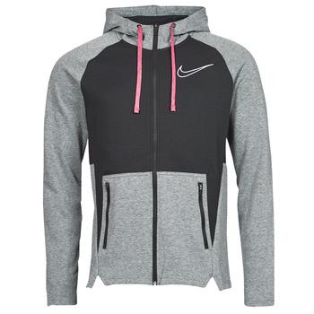 衣服 男士 卫衣 Nike 耐克 M NK TF HD FZ NVLTY 黑色 / 白色