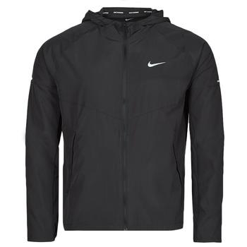衣服 男士 冲锋衣 Nike 耐克 M NK RPL MILER JKT 黑色 / 银灰色