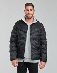 衣服 男士 羽绒服 Nike 耐克 M NSW TF RPL REVIVAL REV JKT 黑色 / 灰色