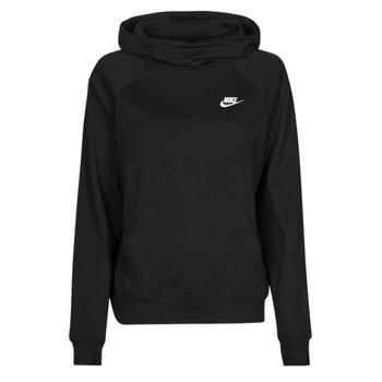 衣服 女士 卫衣 Nike 耐克 NIKE SPORTSWEAR ESSENTIAL 黑色 / 白色
