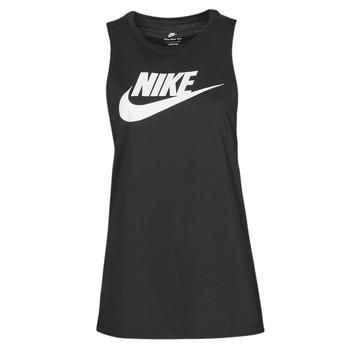 衣服 女士 无领短袖套衫/无袖T恤 Nike 耐克 NIKE SPORTSWEAR 黑色 / 白色