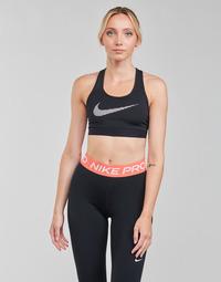 衣服 女士 文胸 Nike 耐克 W NK DF SWSH ICNCLSH GX BRA 黑色 / 白色