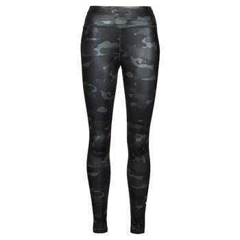 衣服 女士 紧身裤 Nike 耐克 W NK ONE DF CAMO MR TGT 灰色 / 白色