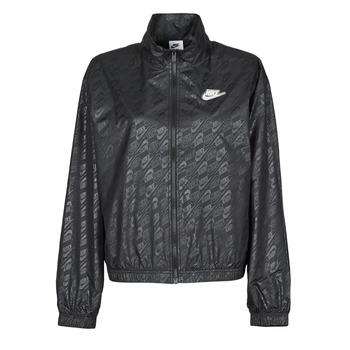 衣服 女士 冲锋衣 Nike 耐克 W NSW WVN GX JKT FTRA 黑色 / 白色