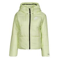 衣服 女士 羽绒服 Nike 耐克 W NSW TF RPL CLASSIC TAPE JKT 绿色 / 黑色 / 白色