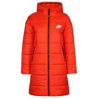 衣服 女士 羽绒服 Nike 耐克 W NSW TF RPL CLASSIC HD PARKA 红色 / 黑色 / 白色